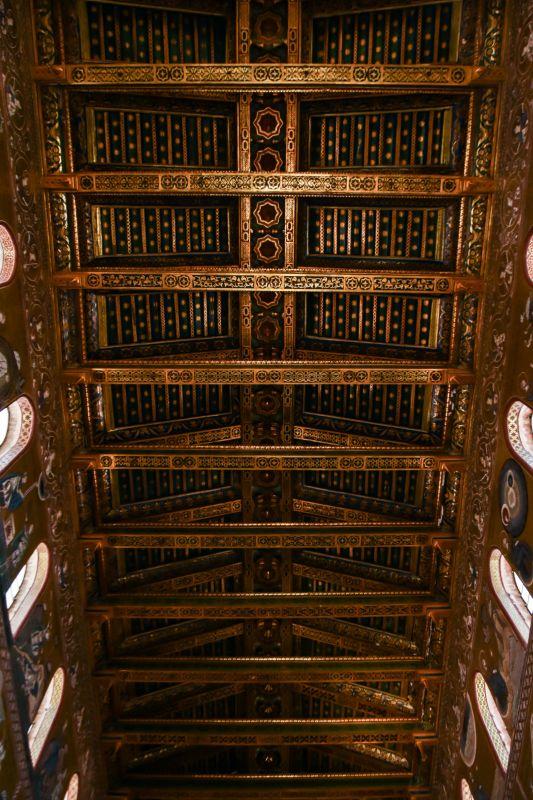 Duomo Monreale travi