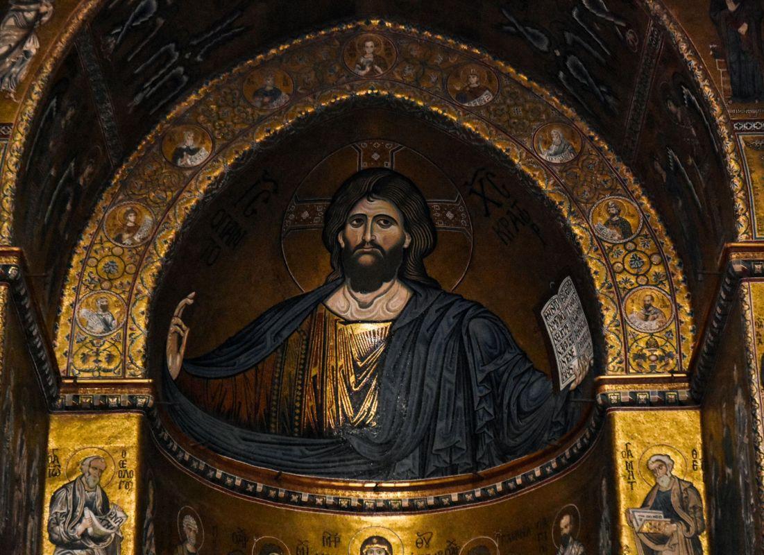 Duomo Monreale Cristo