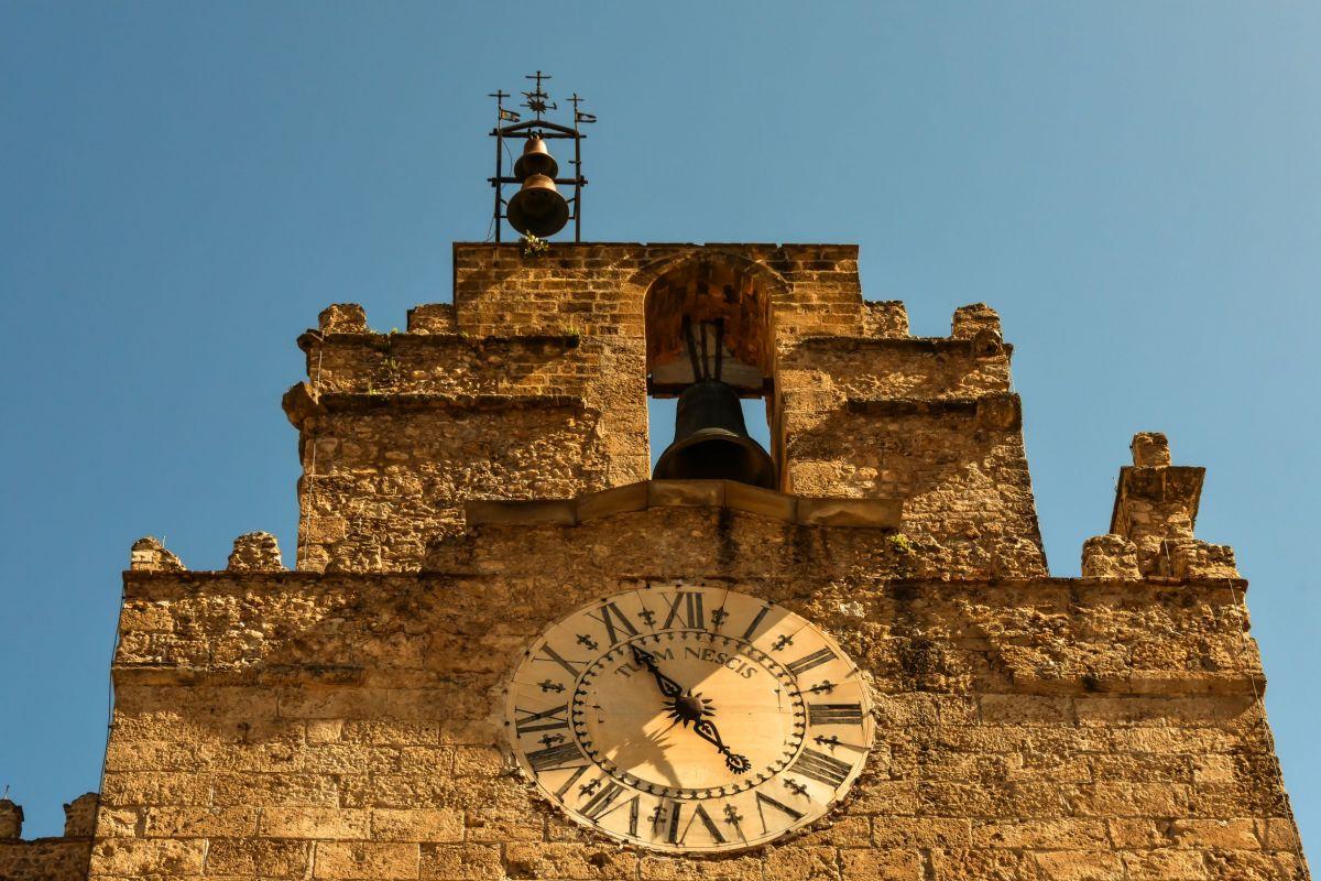 Duomo Monreale orologio