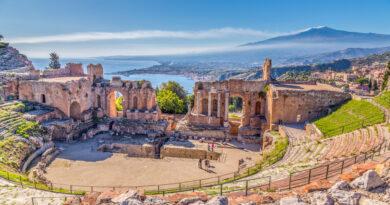 teatro antico taormina Sicilia Live