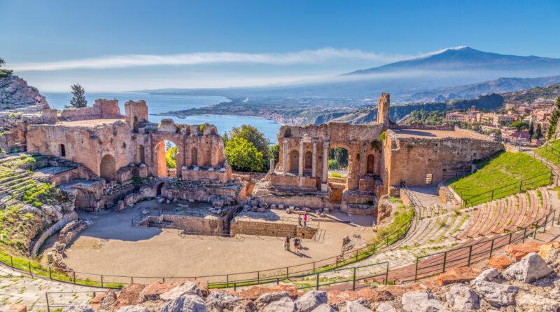 teatro antico taormina Sicilia Live See Sicily
