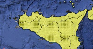 meteo sicilia allerta zona gialla