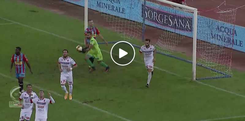 Bari Calcio Catania video