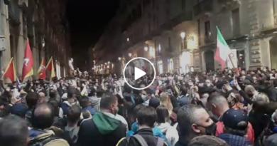 Catania live protesta