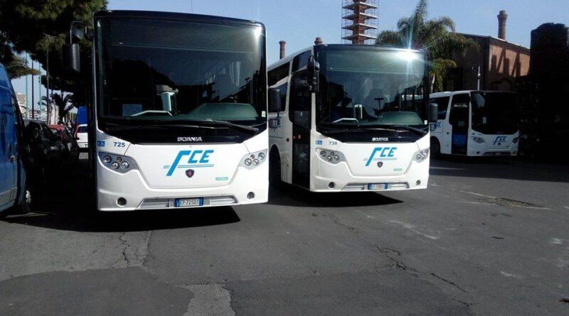 Fce bus Coronavirus Catania