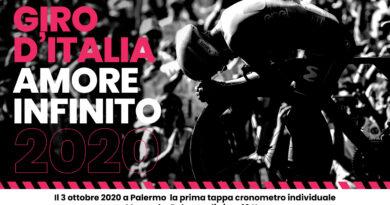 Giro d'Italia 2020 Sicilia Palermo locandina