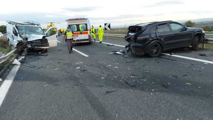 Incidente mortale Palermo Catania
