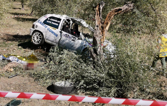 Incidente mortale rally Sicilia