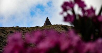 Piramide 38° Parallelo Fiumara d'Arte