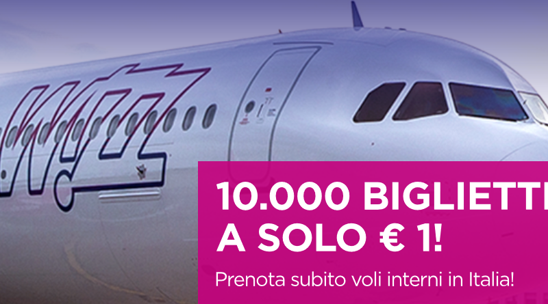 Wizz Air 1 euro voli