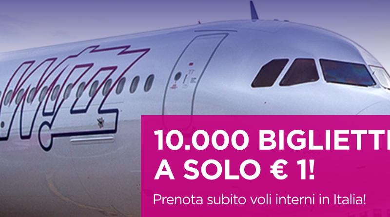 Wizz Air 1 euro voli