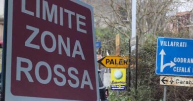 Palermo Zona rossa Sicilia zone rosse