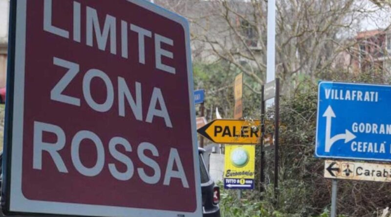 Zona rossa Torretta Palermo Sicilia