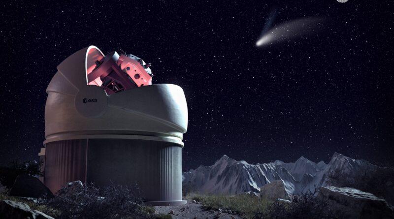 Wide field telescope Madonie flyeye