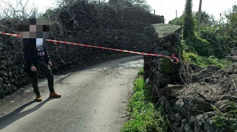 Catania morto carbonizzato
