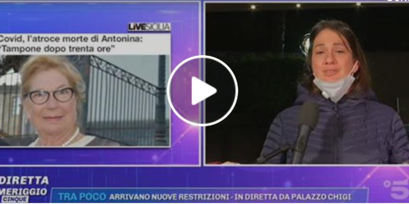 Coronavirus Catania live morta cannizzaro servizio