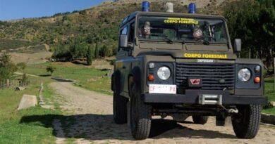 Sicilia forestali macchina