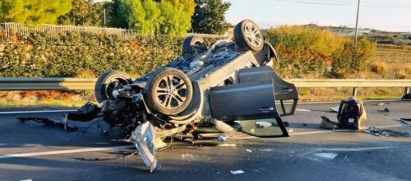 incidente mortale canicattì agrigento
