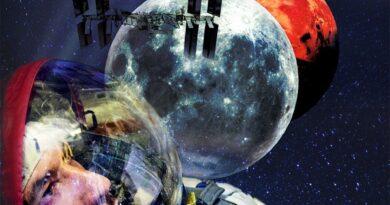 Luca Parmitano locandina Space Beyond