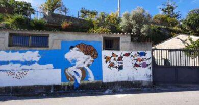 Murales Peppino Impastato imbrattato