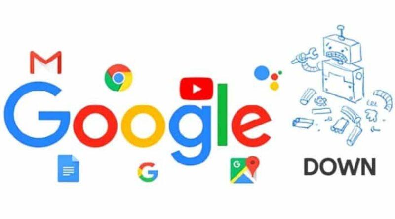 Google down crash