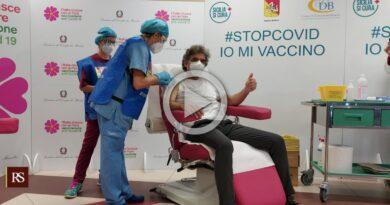 Vaccini Sicilia video