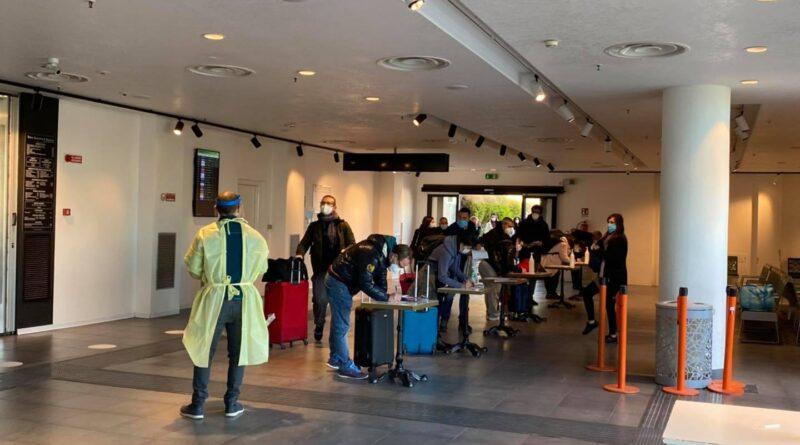 aeroporto di catania screening tamponi positivi