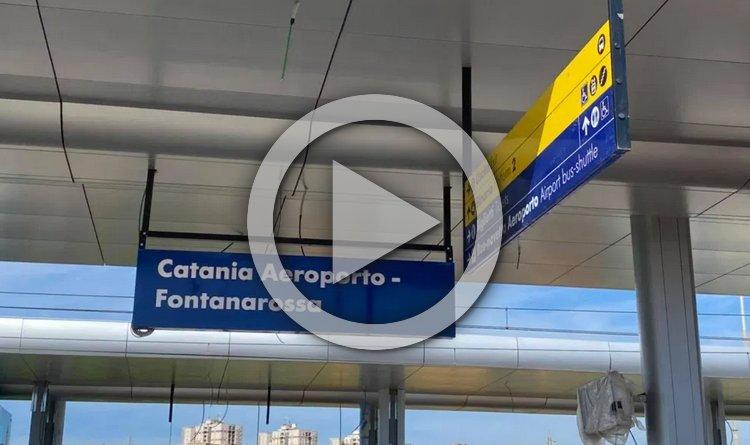 aeroporto di Catania fermata stazione
