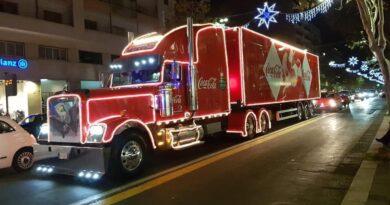 Camion Coca-Cola Sicilia