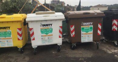 Comune di Catania cassonetti rifiuti