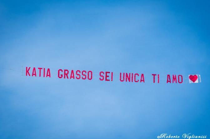 Catania live aereo Katia ti amo