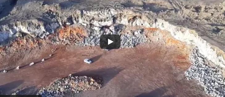 Cava abusiva su colata Etna 1669