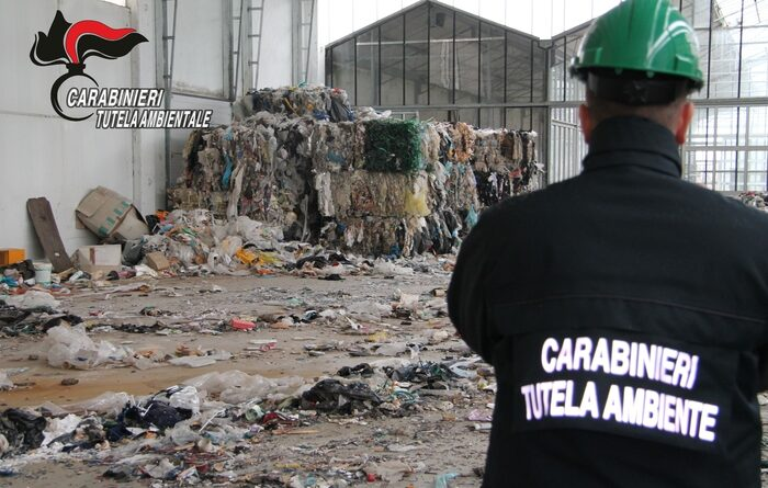Eco-Beach operazione traffico rifiuti