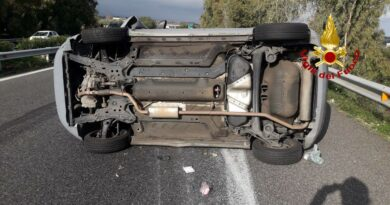Incidente A18 Catania Messina