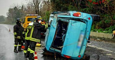 Incidente A18 Catania Messina