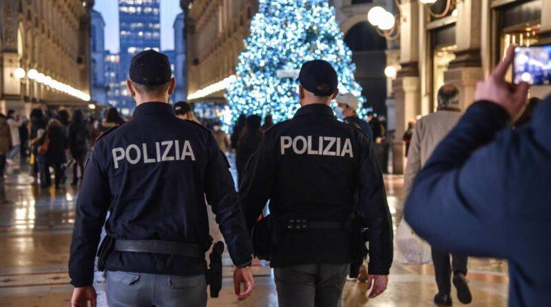 Polizia controlli dpcm Natale zona rossa