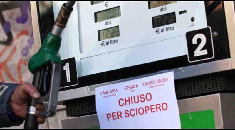 sciopero benzinai sicilia