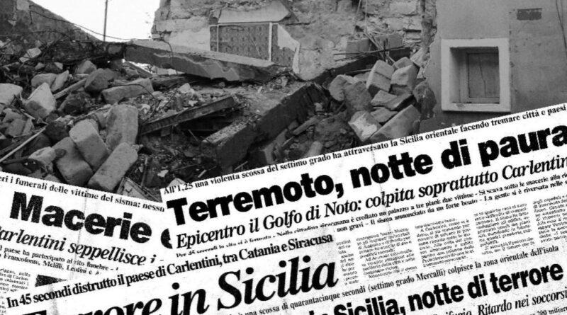 Terremoto Santa Lucia