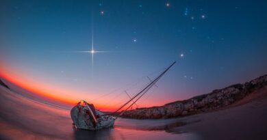 Orione da Calamosche Vendicari Sicilia
