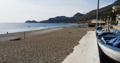 Letojanni spiaggia in provincia di Messina