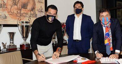 Calcio Catania firma Tacopina Ferrau Pogliese
