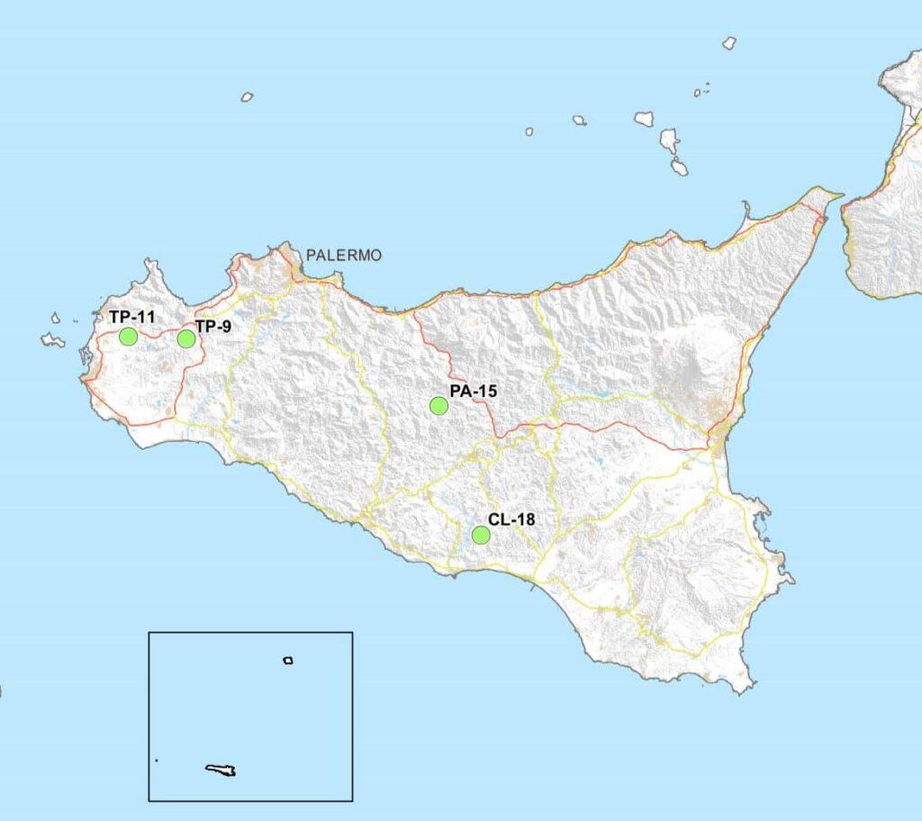 deposito scorie-nucleari regione sicilia mappa