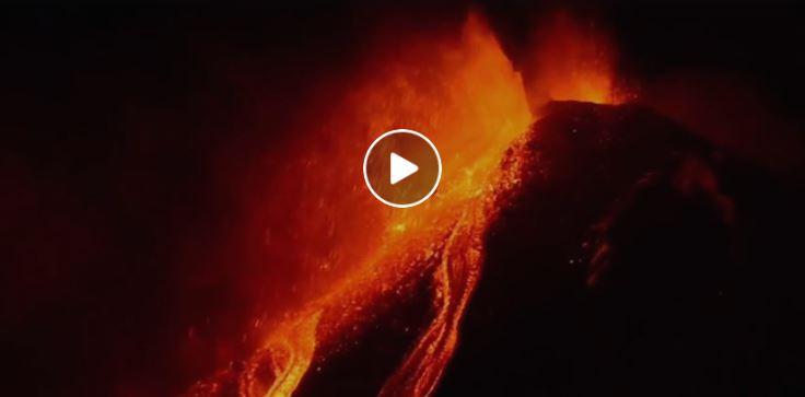 Etna eruzione gennaio