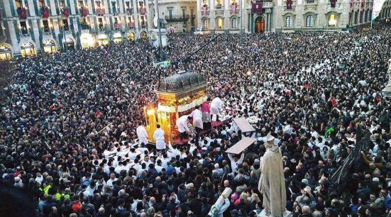 Festa Sant'Agata 2021 cancellata