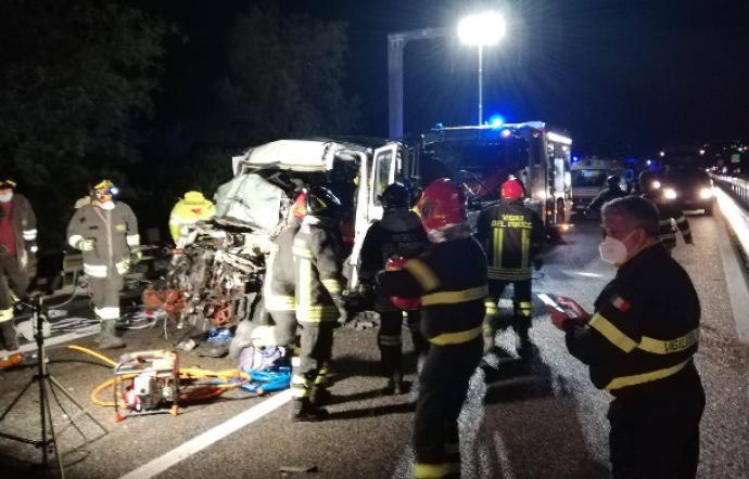 Incidente mortale A19 Catania-Palermo
