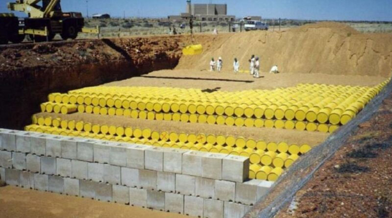 Deposito scorie nucleari Regione Sicilia