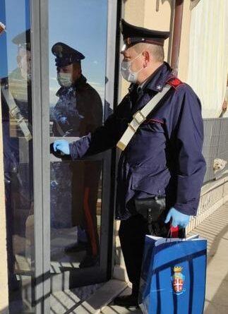 Spesa carabinieri Caltanissetta
