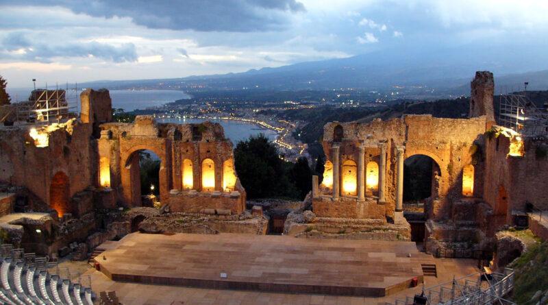 taobuk teatro antico taormina
