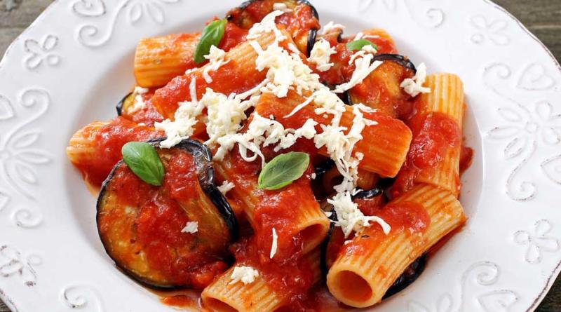 Pasta alla norma Sicilia