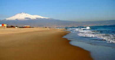 Spiaggia playa Catania meteo estivo